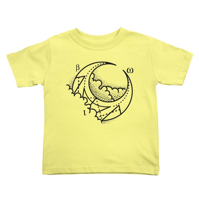 Luna Blanca Kids Toddler T-Shirt by Blake Wood Ink