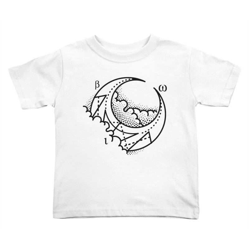 Luna Blanca Kids Toddler T-Shirt by Blake Wood Ink
