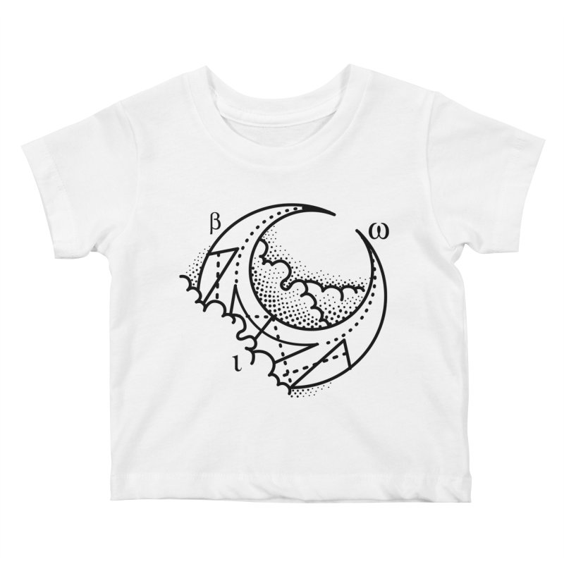 Luna Blanca Kids Baby T-Shirt by Blake Wood Ink