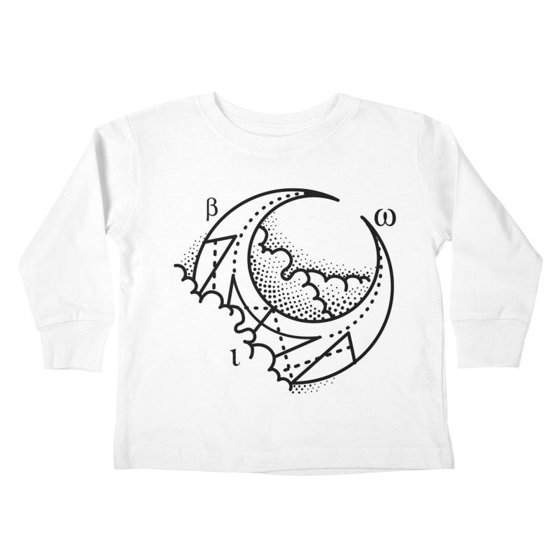 Luna Blanca Kids Toddler Longsleeve T-Shirt by Blake Wood Ink
