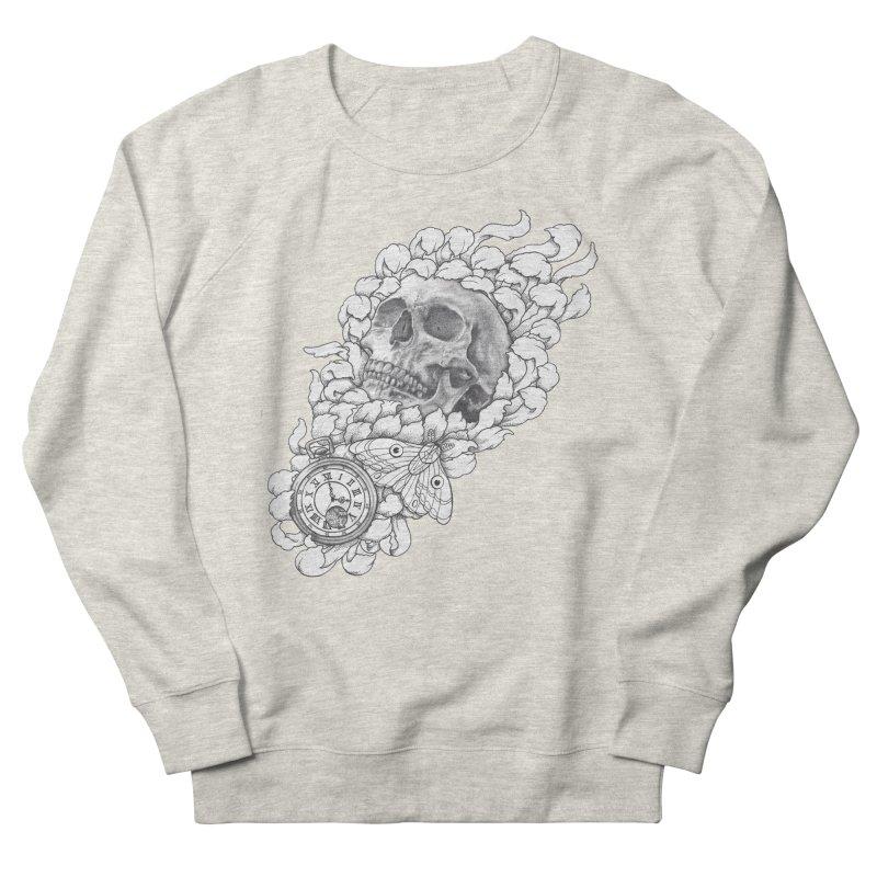 Mourning Flower Women's Sweatshirt by Blake Wood Ink