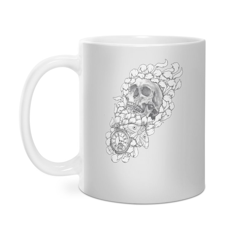 Mourning Flower Accessories Mug by Blake Wood Ink
