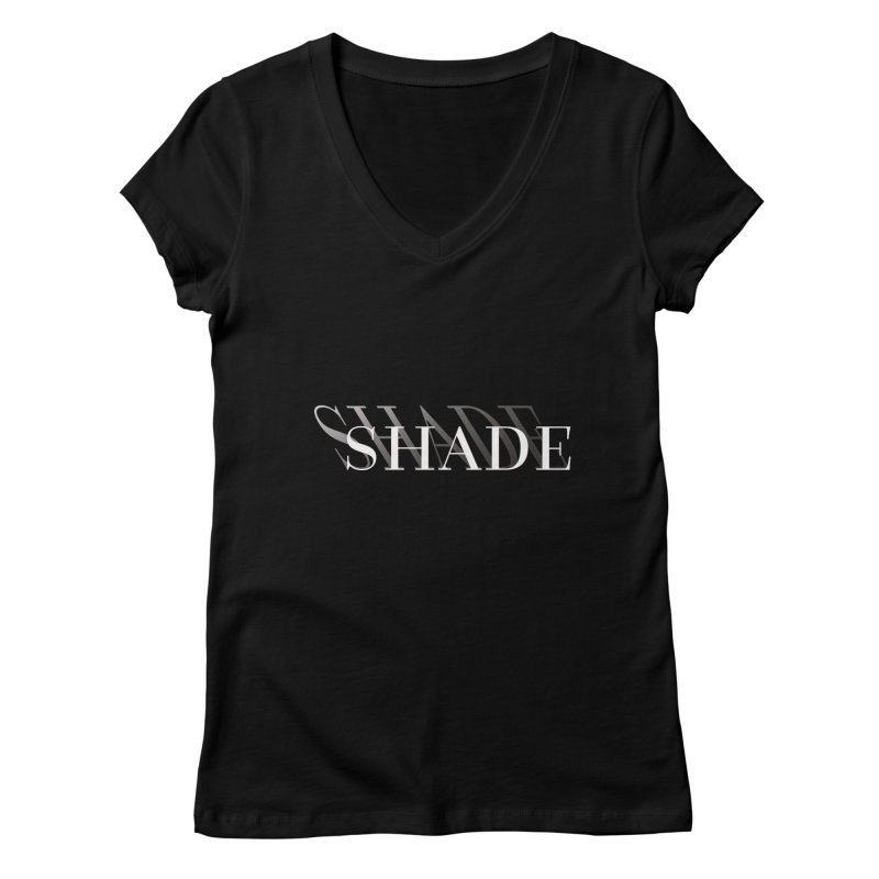 Shade Women's V-Neck by Blake Wood Ink