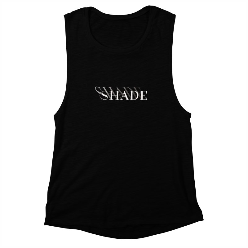 Shade Women's Muscle Tank by Blake Wood Ink