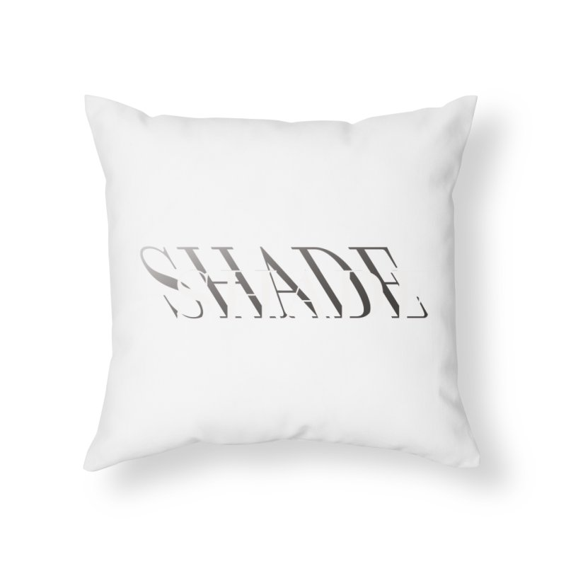 Shade Home Throw Pillow by Blake Wood Ink