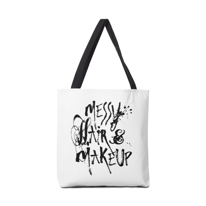 Hair? Don't Care Accessories Bag by Blake Wood Ink