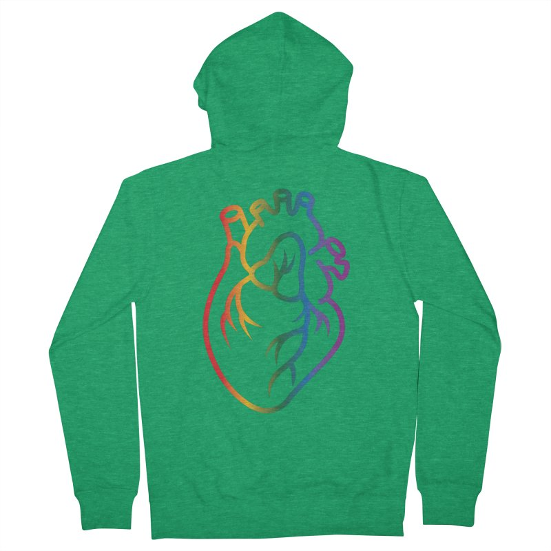 Love Is Love Women's Zip-Up Hoody by Blake Wood Ink