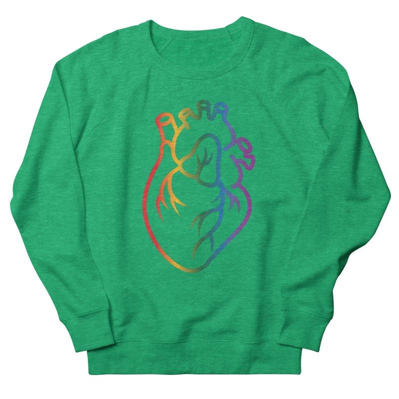 Love Is Love Men's French Terry Sweatshirt by Blake Wood Ink