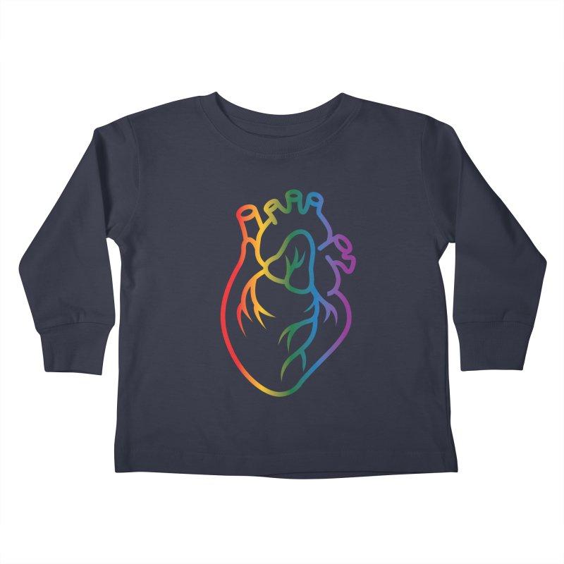 Love Is Love Kids Toddler Longsleeve T-Shirt by Blake Wood Ink