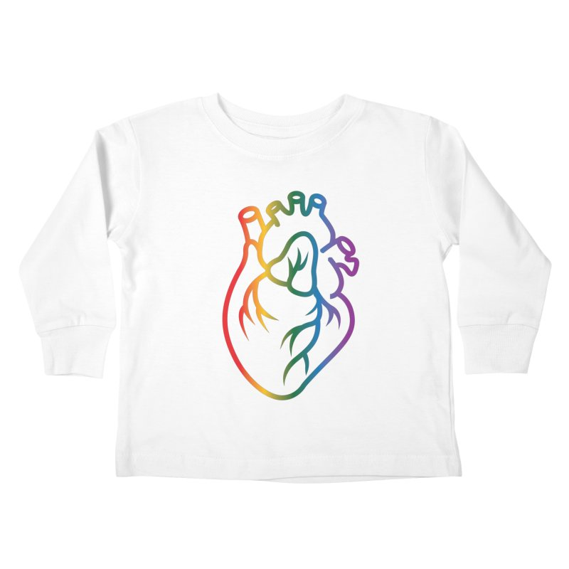 Love Is Love Kids Toddler Longsleeve T-Shirt by Blake Wood Ink