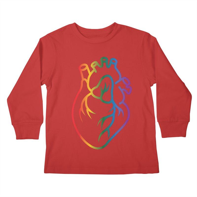Love Is Love Kids Longsleeve T-Shirt by Blake Wood Ink
