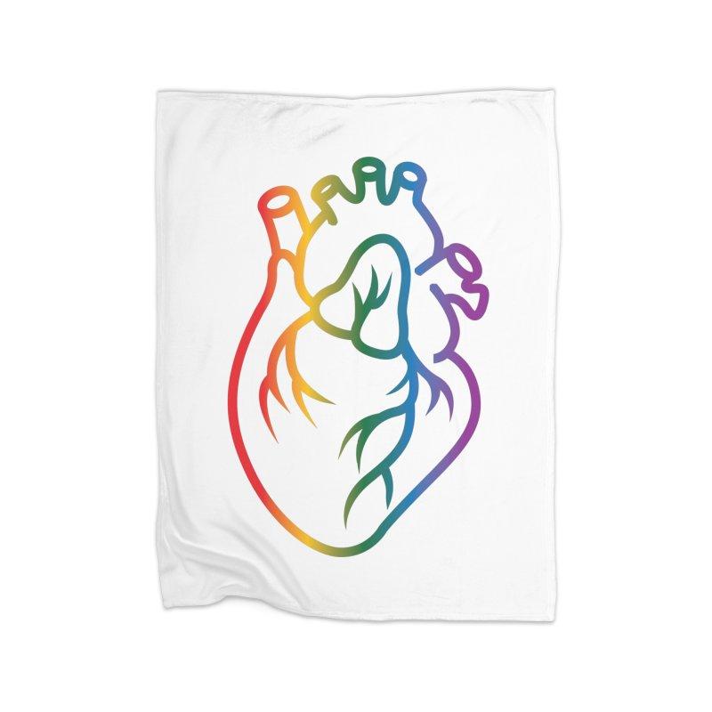 Love Is Love Home Blanket by Blake Wood Ink