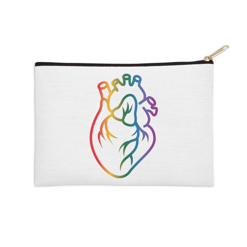 Love Is Love Accessories Zip Pouch by Blake Wood Ink