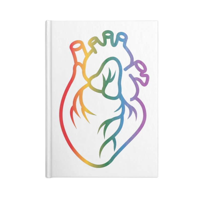 Love Is Love Accessories Notebook by Blake Wood Ink