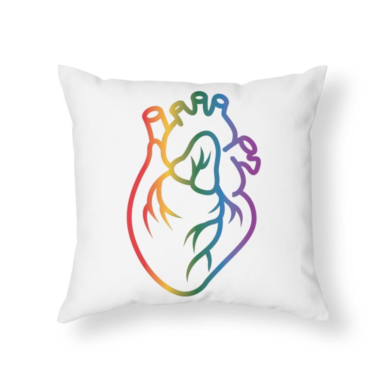 Love Is Love Home Throw Pillow by Blake Wood Ink