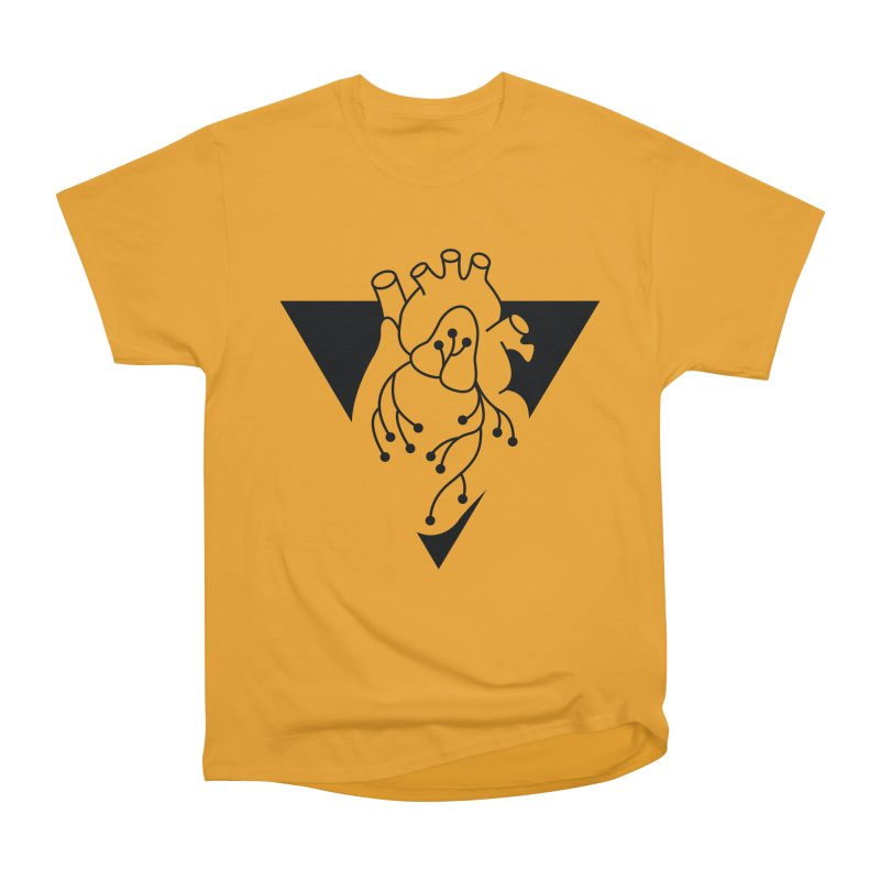 Black Triangle Women's Classic Unisex T-Shirt by Blake Wood Ink