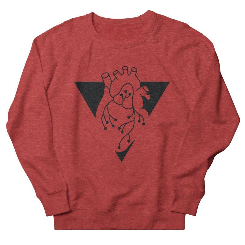 Black Triangle Men's Sweatshirt by Blake Wood Ink
