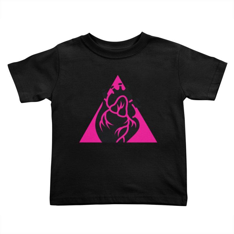 Pink Triangle Kids Toddler T-Shirt by Blake Wood Ink
