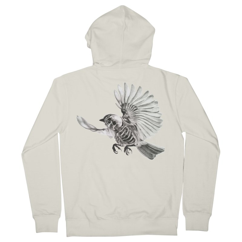 Icarus Women's Zip-Up Hoody by Blake Wood Ink