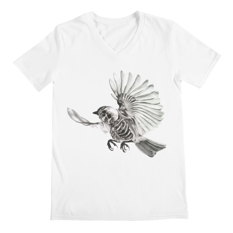 Icarus Men's V-Neck by Blake Wood Ink