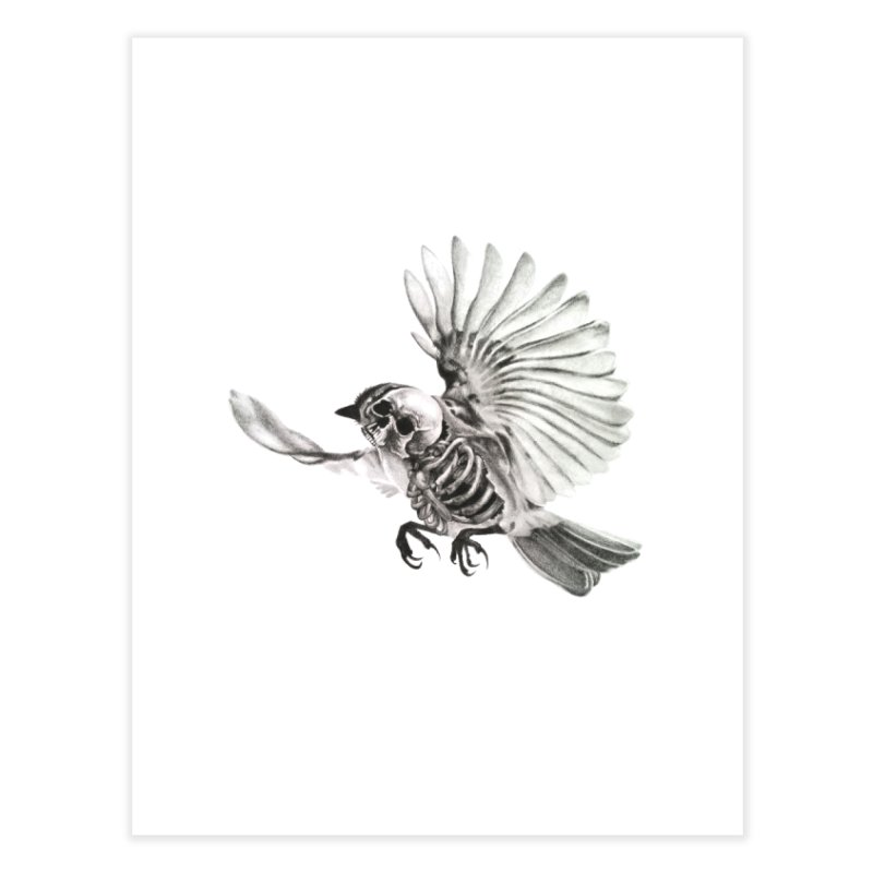 Icarus Home Fine Art Print by Blake Wood Ink