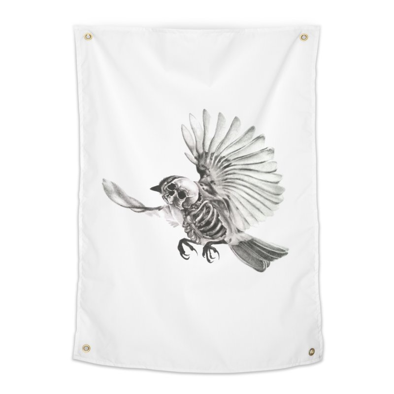 Icarus Home Tapestry by Blake Wood Ink