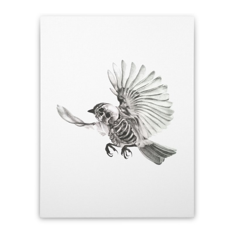 Icarus Home Stretched Canvas by Blake Wood Ink