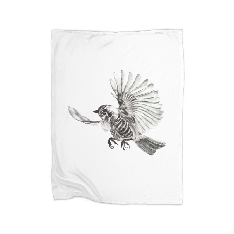 Icarus Home Blanket by Blake Wood Ink