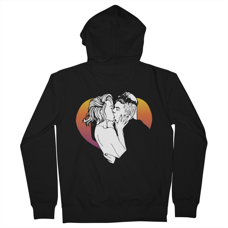 Summer Love Women's Zip-Up Hoody by Blake Wood Ink