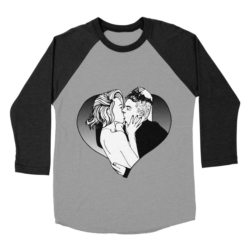 Impassioned Women's Baseball Triblend T-Shirt by Blake Wood Ink