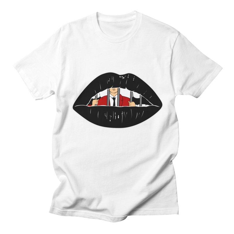 Silenced Men's T-shirt by Blake Wood Ink
