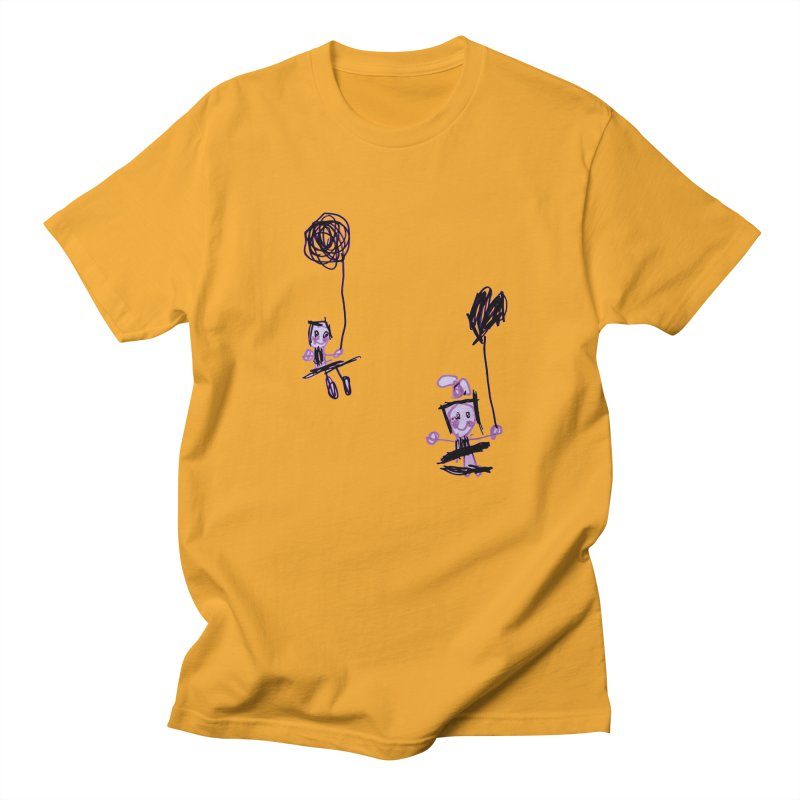 Maria do Carmo - Kids on a swing Men's T-Shirt by Blame Dutchie's Tee House