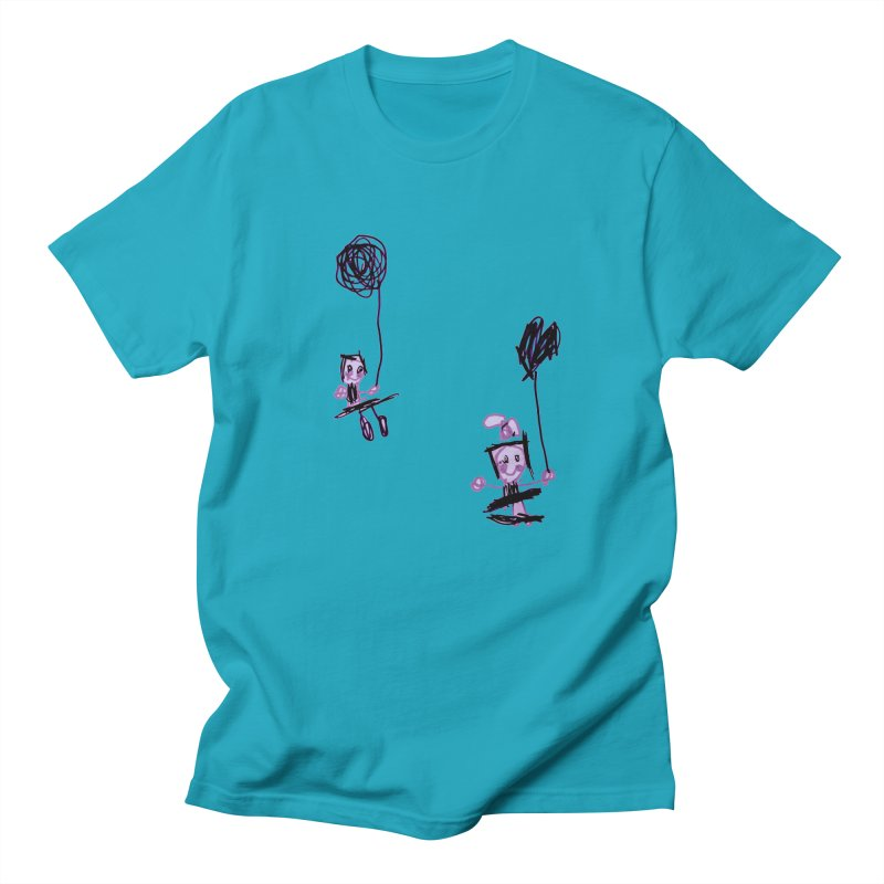 Maria do Carmo - Kids on a swing Men's Regular T-Shirt by Blame Dutchie's Tee House
