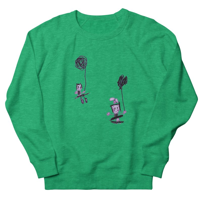 Maria do Carmo - Kids on a swing Men's French Terry Sweatshirt by Blame Dutchie's Tee House