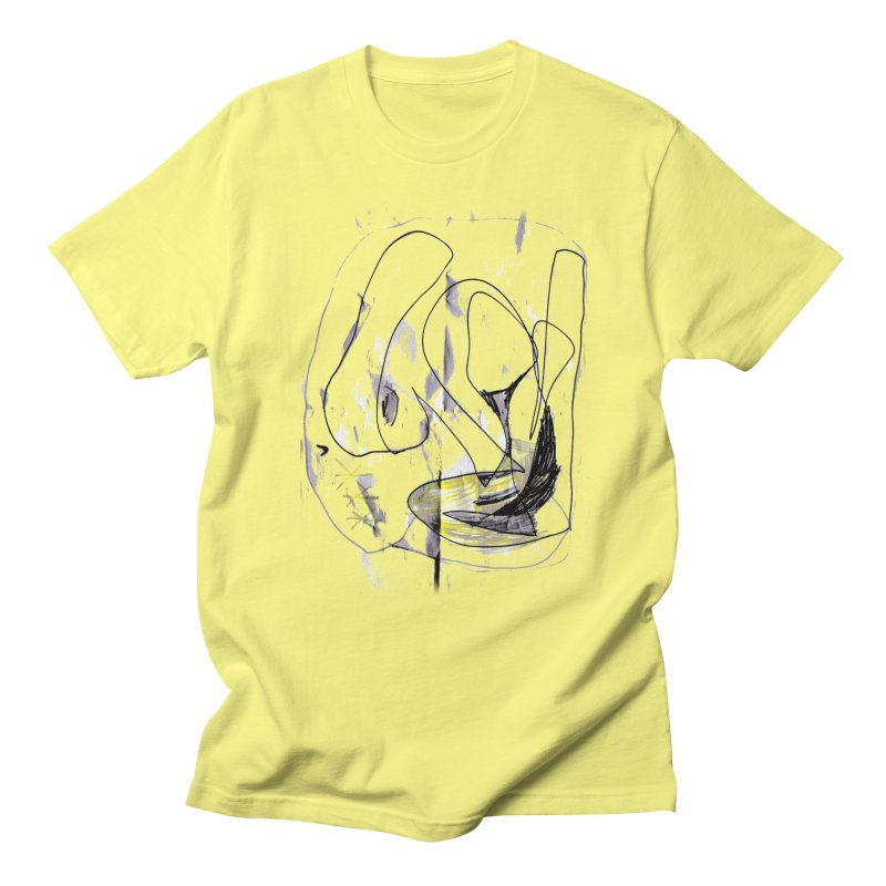 Maria do Carmo - Abstract #1 Men's Regular T-Shirt by Blame Dutchie's Tee House