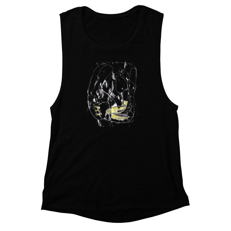Maria do Carmo - Abstract #1 Women's Muscle Tank by Blame Dutchie's Tee House