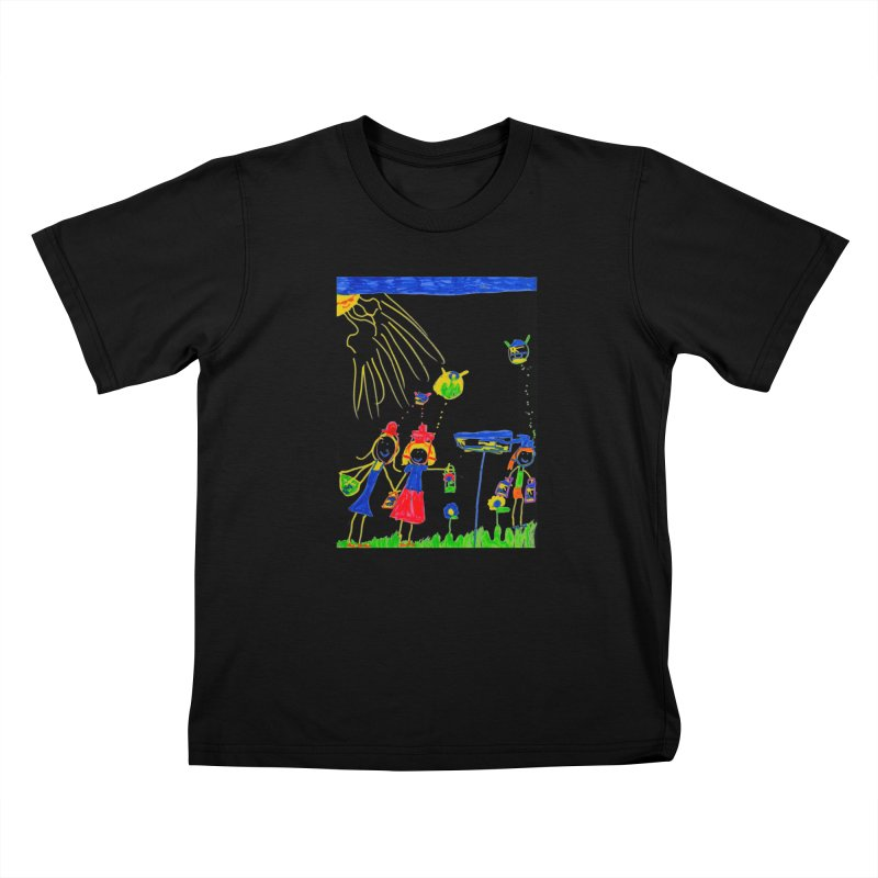 Maria do Carmo - Thinking of Teapots Kids T-Shirt by Blame Dutchie's Tee House