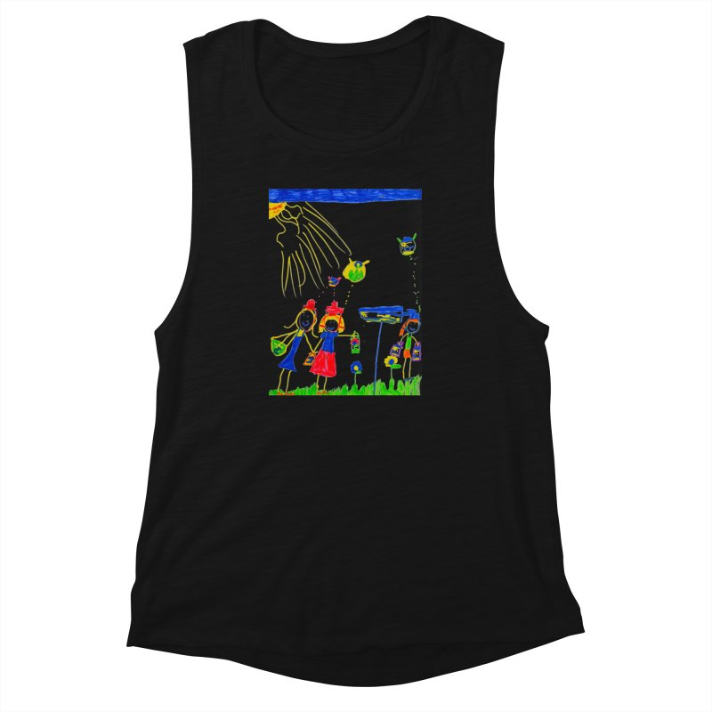 Maria do Carmo - Thinking of Teapots Women's Muscle Tank by Blame Dutchie's Tee House