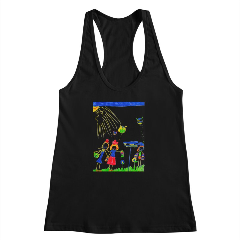 Maria do Carmo - Thinking of Teapots Women's Racerback Tank by Blame Dutchie's Tee House