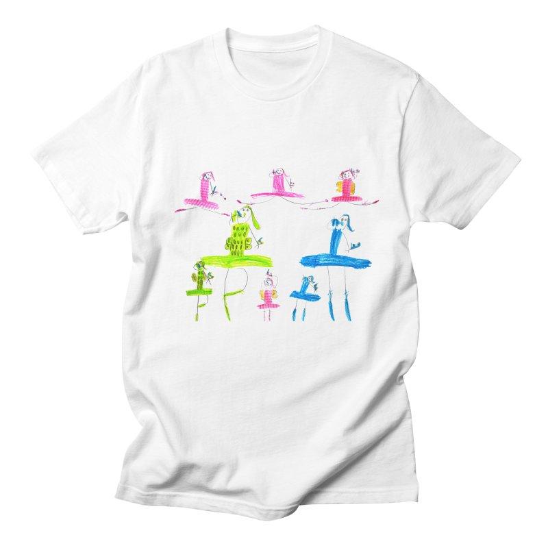 Maria do Carmo - Ballet 1 Men's Regular T-Shirt by Blame Dutchie's Tee House