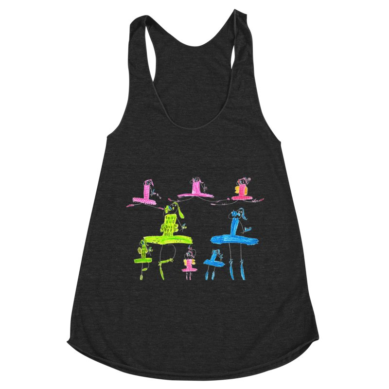 Maria do Carmo - Ballet 1 Women's Racerback Triblend Tank by Blame Dutchie's Tee House