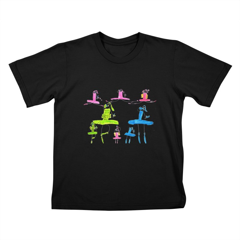 Maria do Carmo - Ballet 1 Kids T-Shirt by Blame Dutchie's Tee House