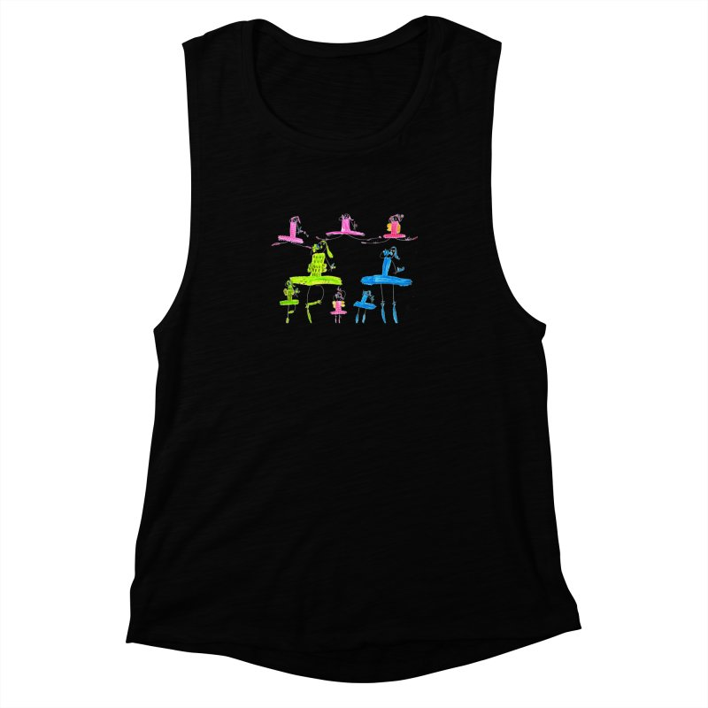 Maria do Carmo - Ballet 1 Women's Muscle Tank by Blame Dutchie's Tee House
