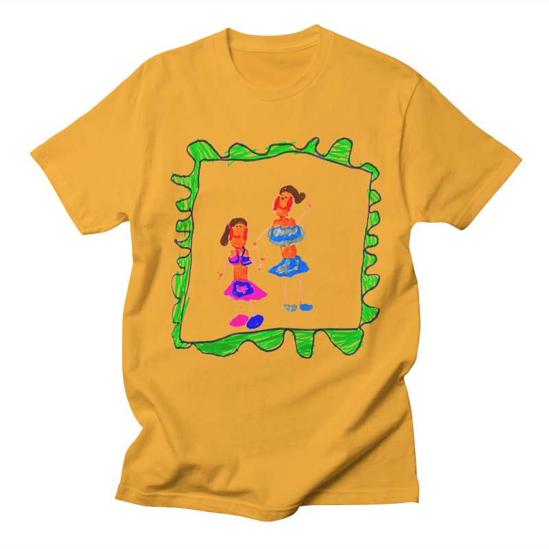 Maria do Carmo - Friends on a stamp Men's T-Shirt by Blame Dutchie's Tee House