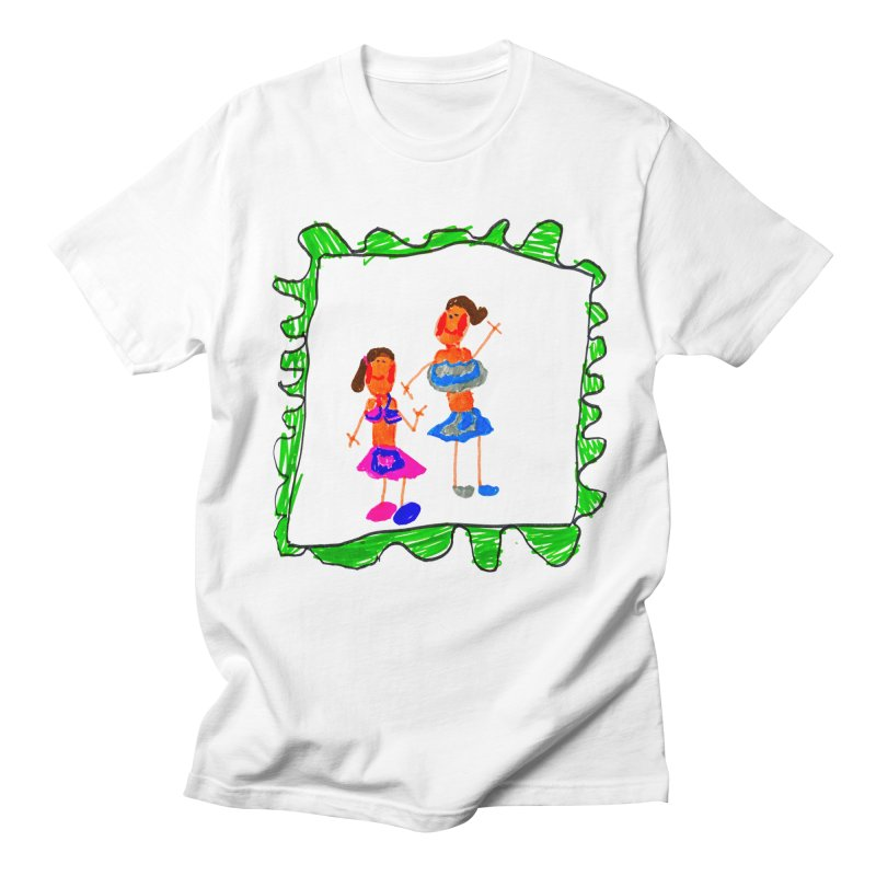 Maria do Carmo - Friends on a stamp Men's Regular T-Shirt by Blame Dutchie's Tee House