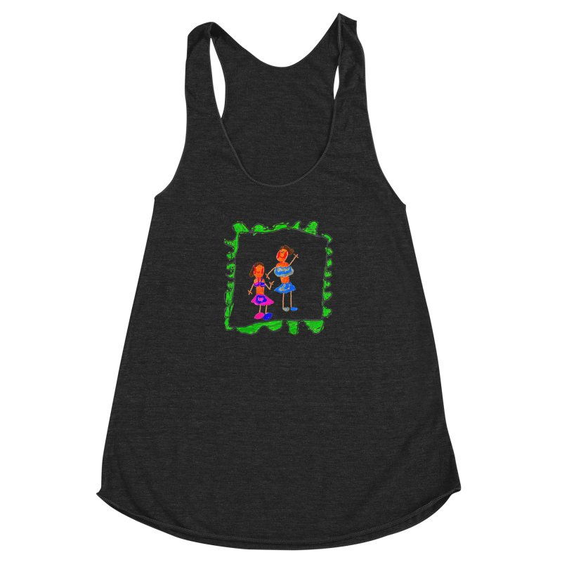 Maria do Carmo - Friends on a stamp Women's Tank by Blame Dutchie's Tee House