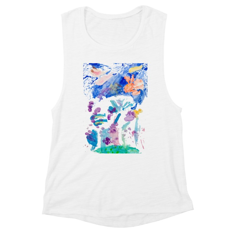 Maria do Carmo - Landscape #1 Women's Muscle Tank by Blame Dutchie's Tee House
