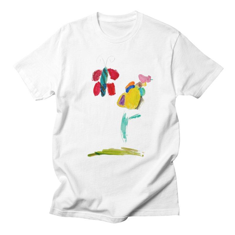Maria do Carmo - Borboleta Men's T-Shirt by Blame Dutchie's Tee House