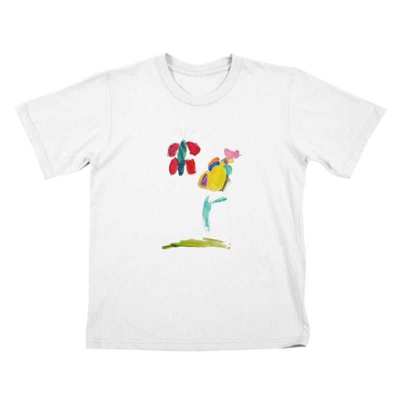 Maria do Carmo - Borboleta Kids T-Shirt by Blame Dutchie's Tee House
