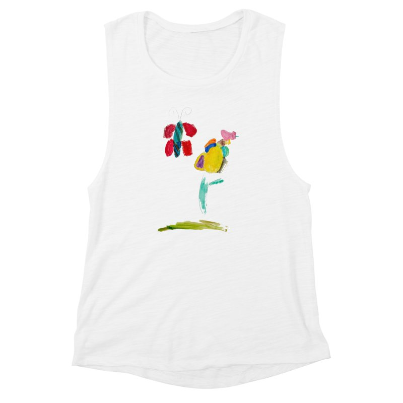 Maria do Carmo - Borboleta Women's Muscle Tank by Blame Dutchie's Tee House